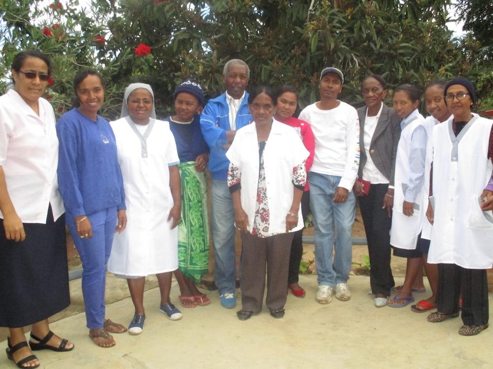 Centre de soin-Ampopoka-Madagascar-equipe